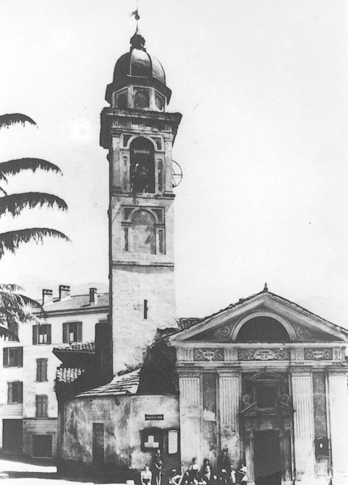 la vecchia chiesa parrocchiale